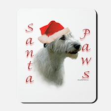 Santa Paws Irish Wolfhound Mousepad
