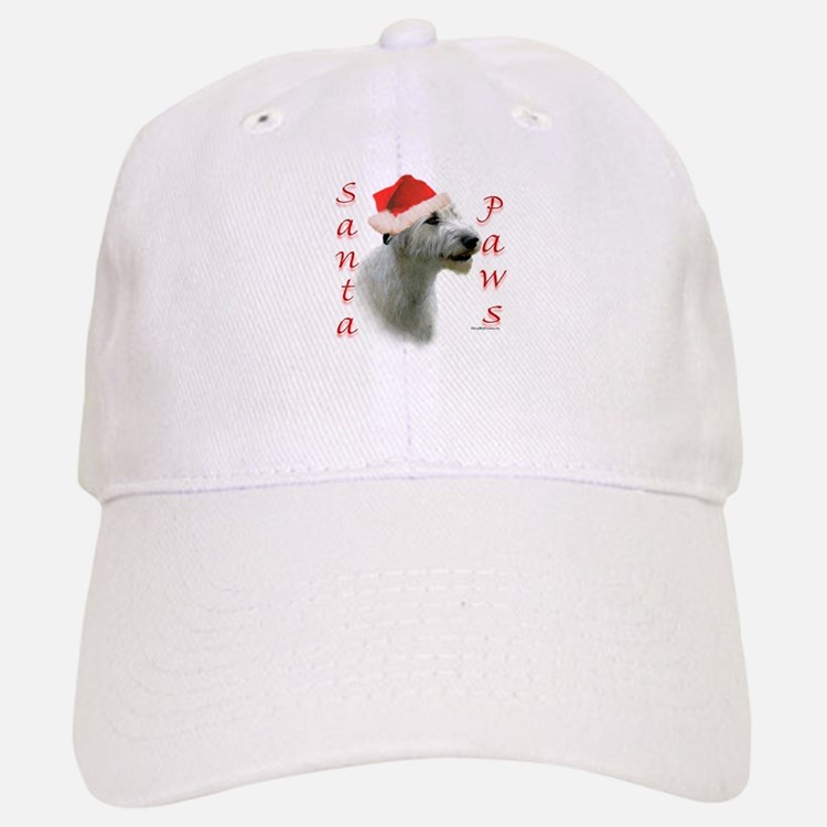 Santa Paws Irish Wolfhound Baseball Baseball Cap