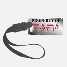 property of YHWH Luggage Tag