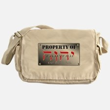 property of YHWH Messenger Bag