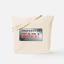 property of YHWH Tote Bag