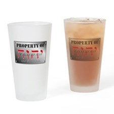 property of YHWH Drinking Glass