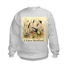 I Love Beetles Remastered Sweatshirt