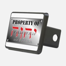 property of YHWH Hitch Cover