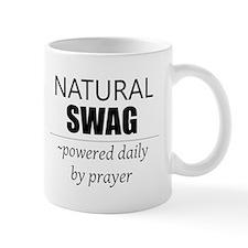 Natural Swag- Powered by Prayer Mug