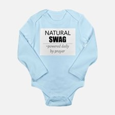 Natural Swag- Powered by Prayer Long Sleeve Infant