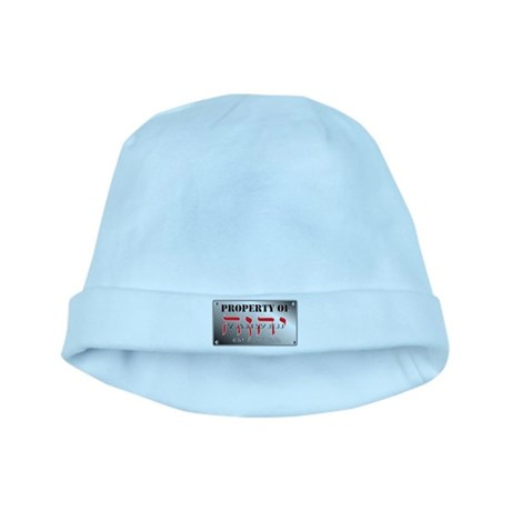 property of YHWH baby hat