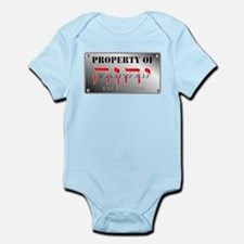 property of YHWH Infant Bodysuit