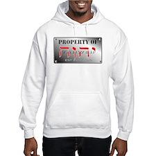property of YHWH Hoodie