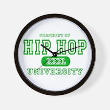 Hip Hop University Wall Clock