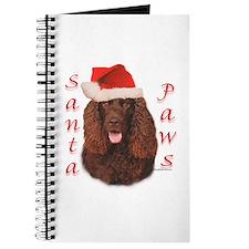 Santa Paws Irish Water Spaniel Journal