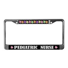Pediatric Nurse License Frame Nursing Gift