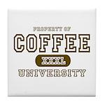 Coffee University Tile Coaster