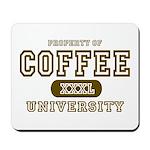 Coffee University Mousepad