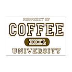 Coffee University Mini Poster Print