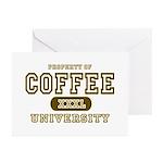 Coffee University Greeting Cards (Pk of 10)