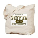 Coffee University Tote Bag