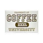Coffee University Rectangle Magnet