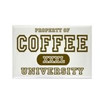 Coffee University Rectangle Magnet (10 pack)