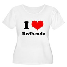 red heads white Plus Size T-Shirt