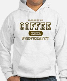 Coffee University Jumper Hoody