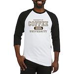 Coffee University Baseball Jersey