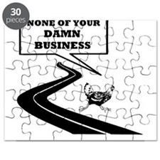 None Of Your Damn Business Puzzle