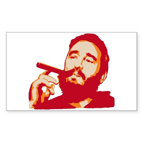 Strk3 Fidel Rectangle Sticker