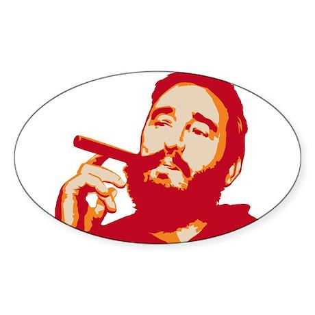 Strk3 Fidel Oval Sticker