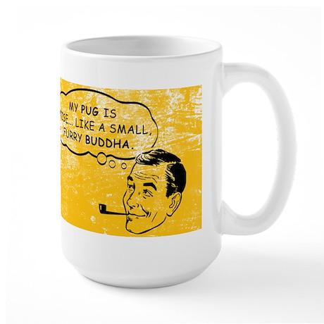 pug_buddha_coffee Mugs