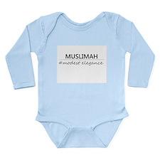 Muslimah #Modest Elegance Onesie Romper Suit