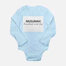 Muslimah #Modest and Fly Long Sleeve Infant Bodysu