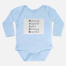 HIJAB Long Sleeve Infant Bodysuit
