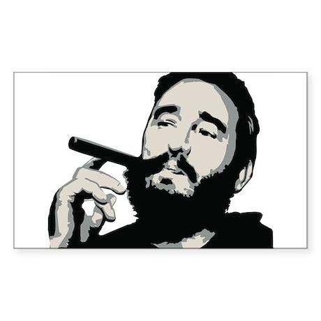 Strk3 Fidel Rectangle Sticker