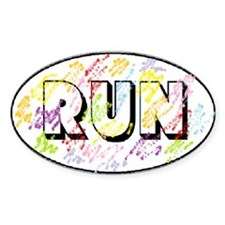 Color Run Stickers