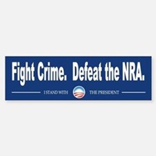 Fight Crime Bumper Bumper Sticker