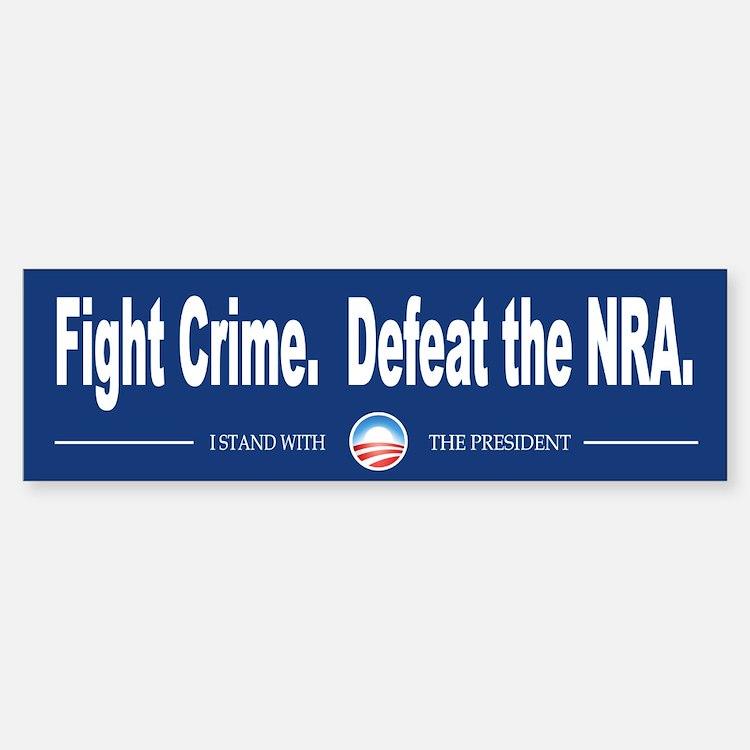 Fight Crime Bumper Bumper Sticker