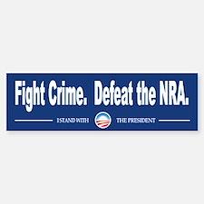 Fight Crime Car Car Sticker