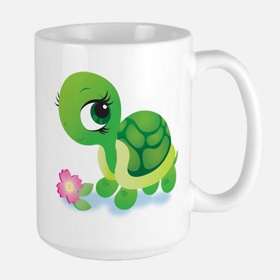 Toshi the Turtle Large Mug