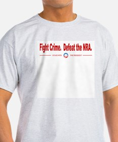 Fight Crime, Defeat the NRA T-Shirt