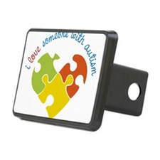 Someone With Autism Hitch Cover