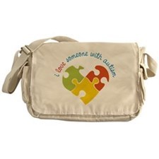Someone With Autism Messenger Bag