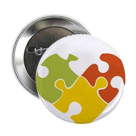 """Someone With Autism 2.25"""" Button"""