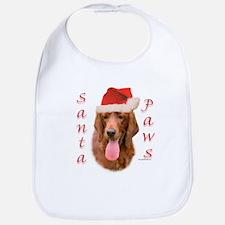 Santa Paws Irish Setter Bib