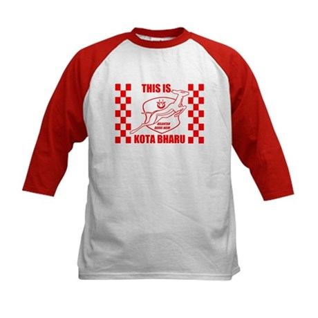 This Is Kota Bharu Kids Baseball Jersey