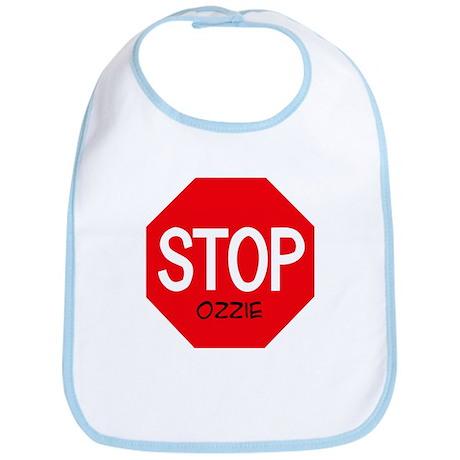 Stop Ozzie Bib