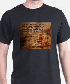 The Onward March - Victor Hugo T-Shirt
