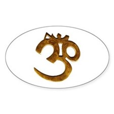 Golden Om Decal