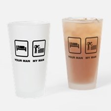 Bricklayer Drinking Glass