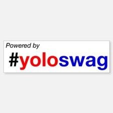 powered by yoloswag Bumper Bumper Bumper Sticker